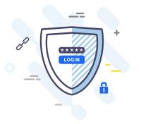 Outline flat иконки для приложения по управлению криптовалютами