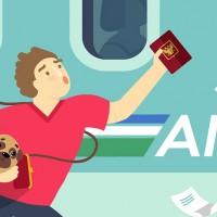 Паспорт забыли! Иллюстрация для сайта Mooraway