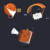 flat-иллюстрации для приложения