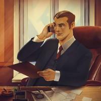 Level up иллюстрации для детективного агенства