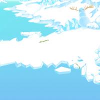 Северный полюс, фон для Tappie Puzzles