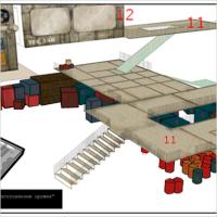 Концепт для 3д моделирования и текстурирования
