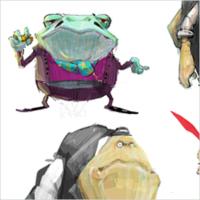 Персонажи для гангстерского мультфильма студии Animatix 4d