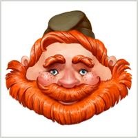 Рыжий лидер деревушки Выручаловка
