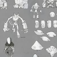 Поиск образа  персонажей-роботов