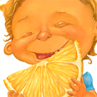 Девочка с лимоном