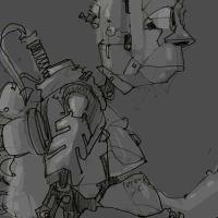 Робот-старик