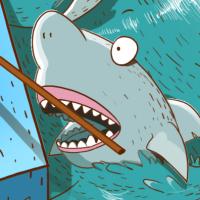 Билет для КВН, сквозь шторм и акульи зубы