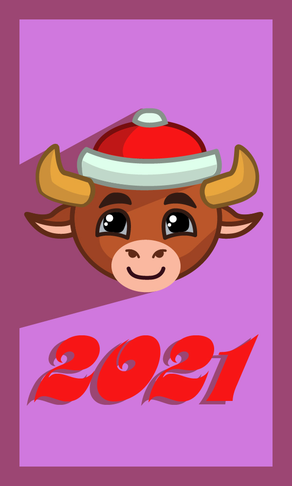 Создать рисунки быков, символа 2021 года, для реализации в м фото f_5555eff3c3f0fa2c.jpg