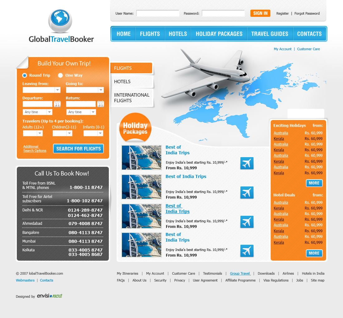 GlobalTravelBooker