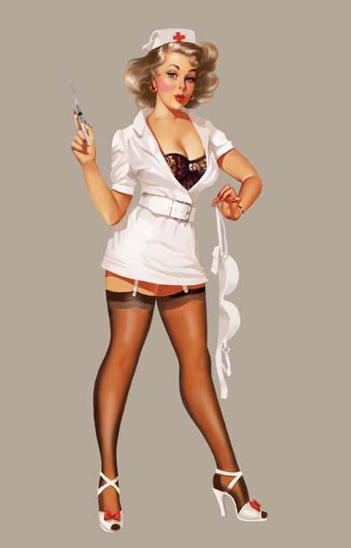 А служит медсестрой.  Вот такой примерно типажик.  МЧ меняет , как перчатки, и я уже жду, когда же она за...