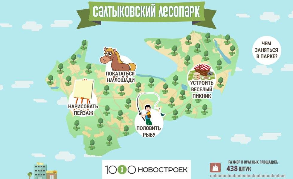 Салтыковский лесопарк