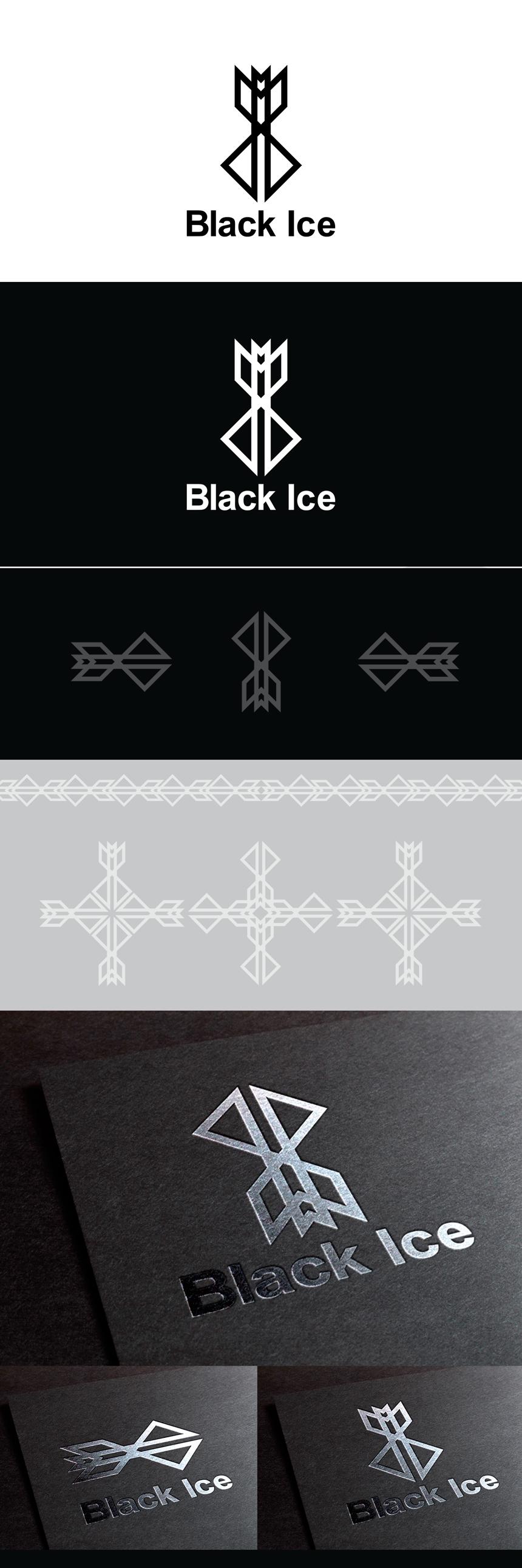 "Логотип + Фирменный стиль для компании ""BLACK ICE"" фото f_09156dec6fe24e54.jpg"