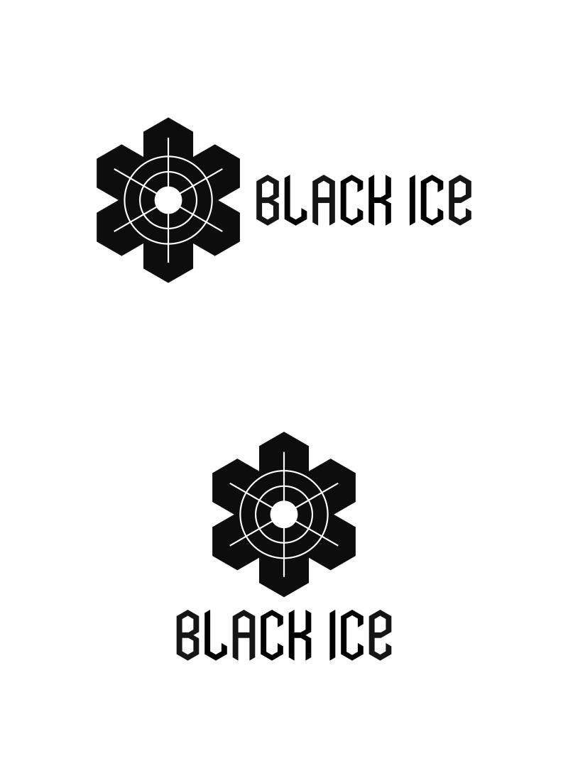 """Логотип + Фирменный стиль для компании """"BLACK ICE"""" фото f_158571297ed4c485.jpg"""