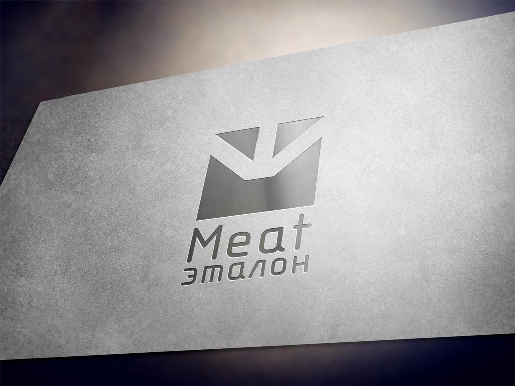 Логотип компании «Meat эталон» фото f_183570003a05cf3f.jpg