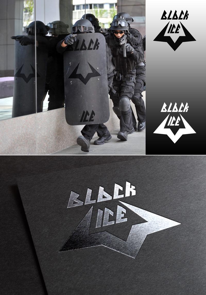 """Логотип + Фирменный стиль для компании """"BLACK ICE"""" фото f_55556e4497dcdc38.jpg"""
