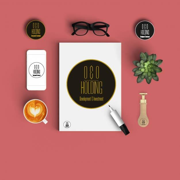 """Разработка Логотипа +  Фирменного знака для компании """"O & O HOLDING"""" фото f_6015c7d6a23b3e6a.jpg"""