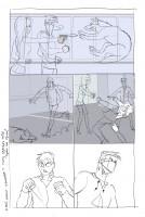 Пример раскадровки комикса