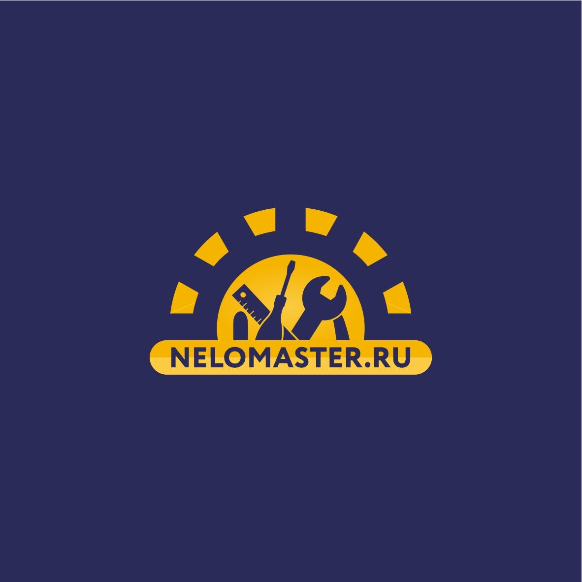 """Логотип сервиса """"Муж на час""""=""""Мужская помощь по дому"""" фото f_5715dc2fa3c3efb8.jpg"""