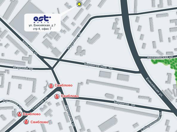 Карта проезда, Ost-media