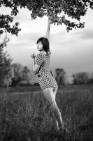 Ксюша_клетчатое платье