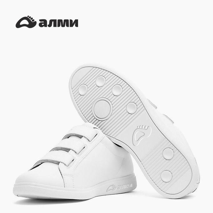 Дизайн логотипа обувной марки Алми фото f_48259fb09505c962.jpg