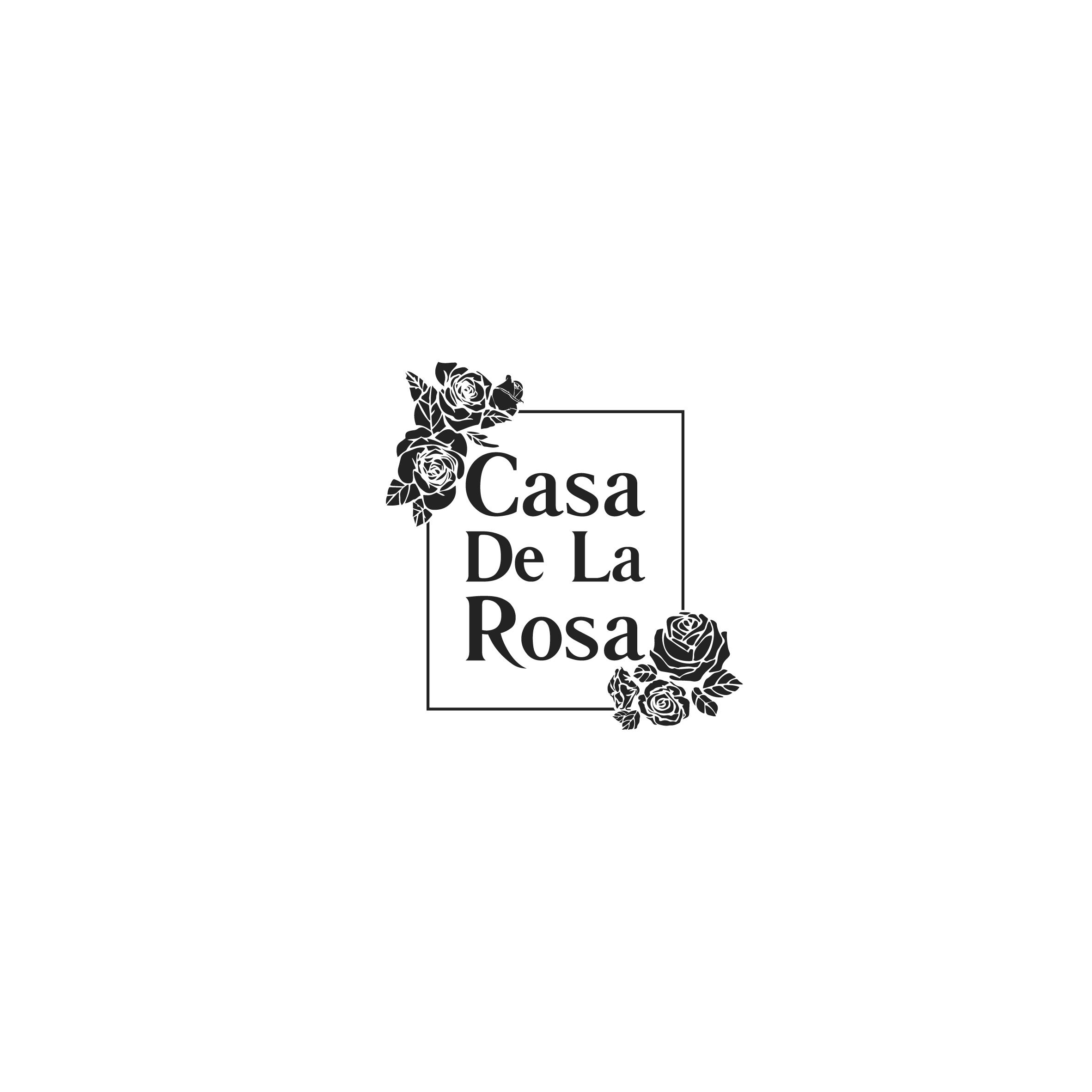 Логотип + Фирменный знак для элитного поселка Casa De La Rosa фото f_2535cd2f26b61de0.jpg
