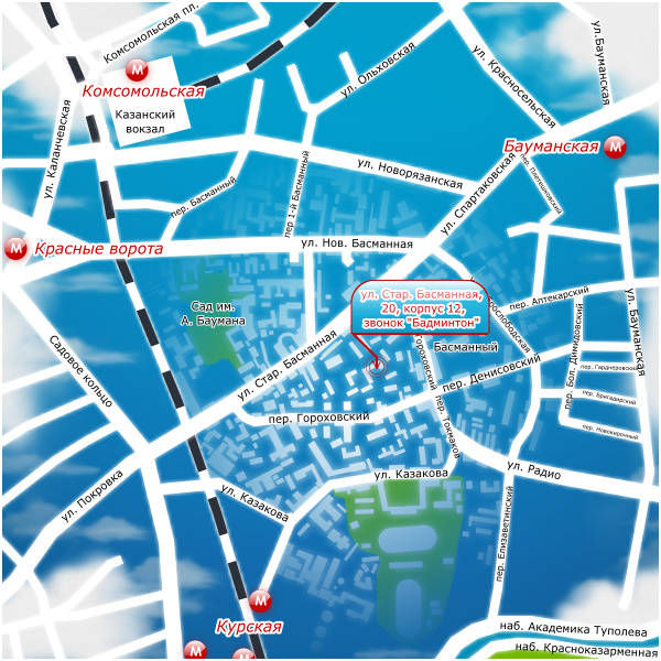Карта проезда 1