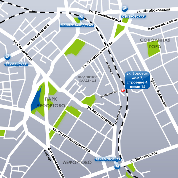 Карта проезда 3