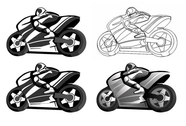 Мотогонки. Логотип, фирменный стиль. фото f_4dceac81a1bb4.jpg
