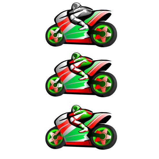 Мотогонки. Логотип, фирменный стиль. фото f_4dcead807f9c5.jpg
