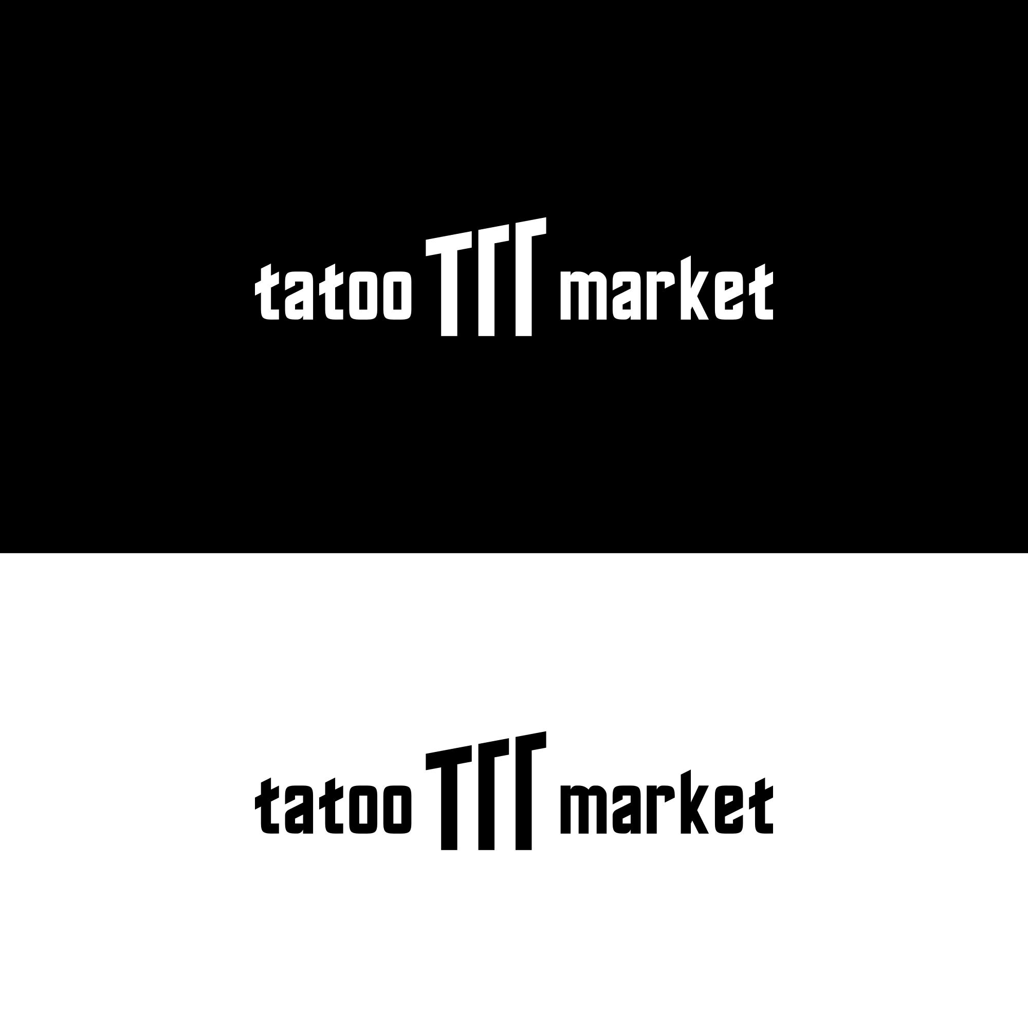 Редизайн логотипа магазина тату оборудования TattooMarket.ru фото f_1875c53547523817.png