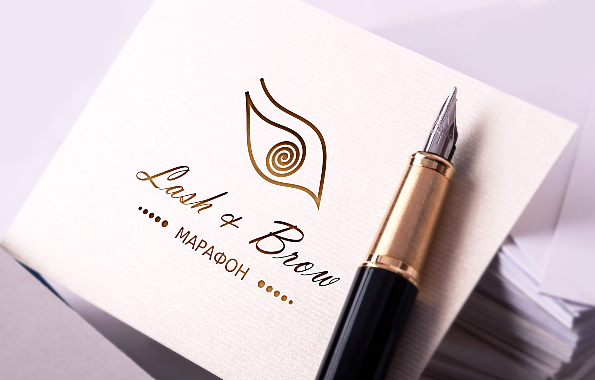 "Создание логотипа мероприятия ""Марафон Lash&Brow"" фото f_65058f7490833c4a.jpg"