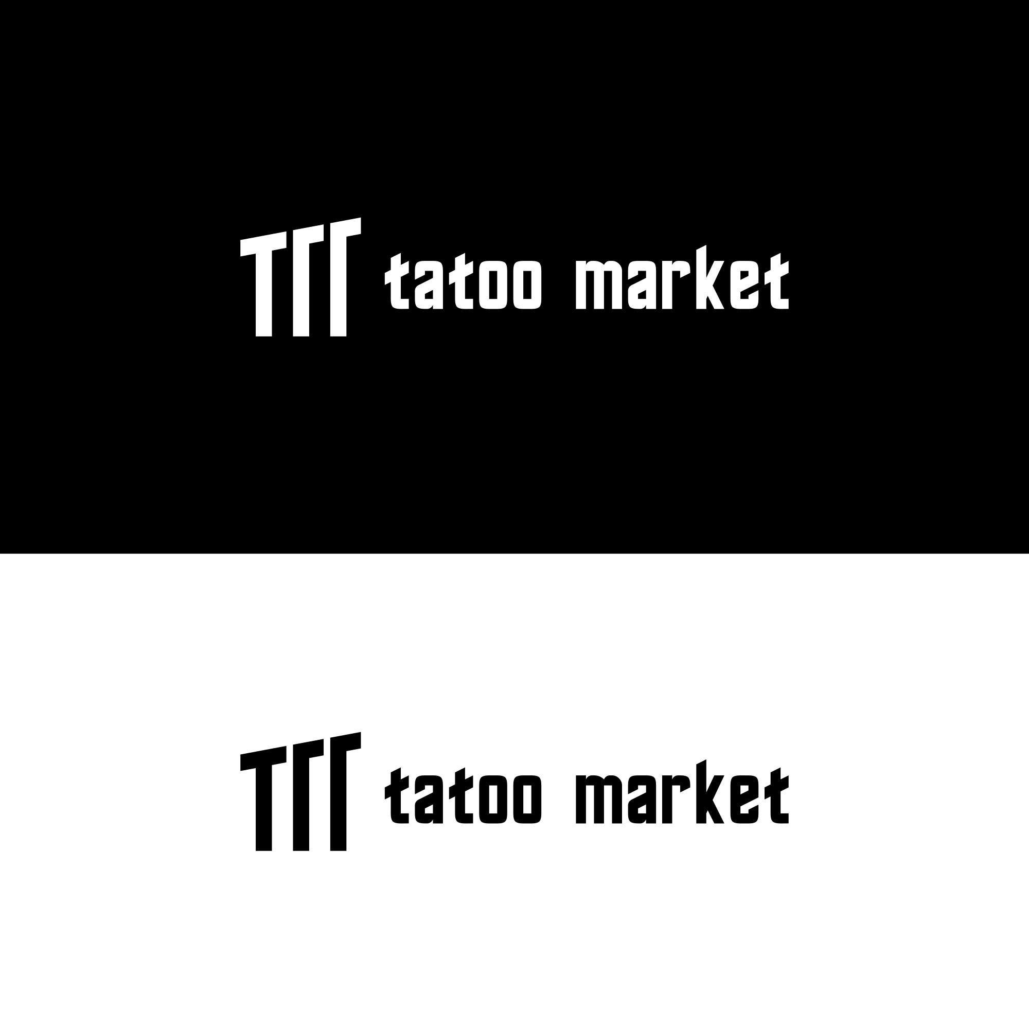 Редизайн логотипа магазина тату оборудования TattooMarket.ru фото f_7105c535469bf69f.png