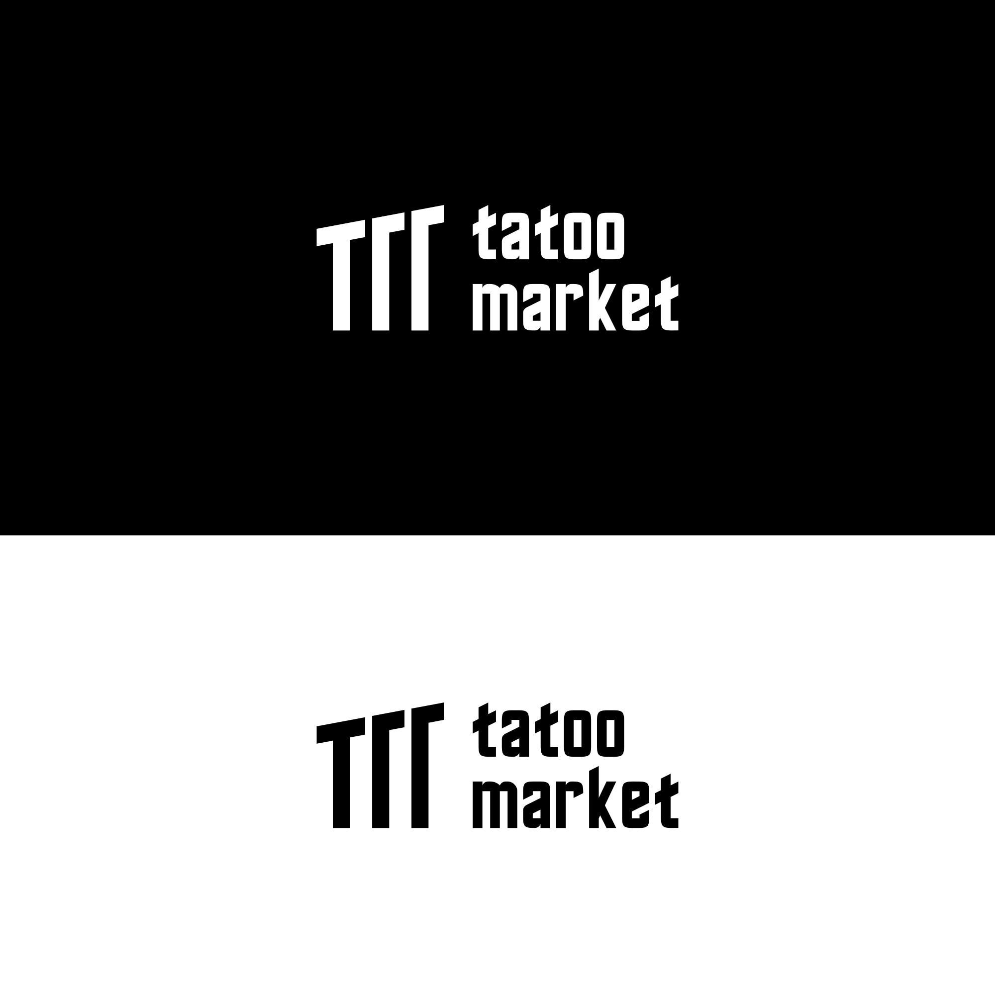 Редизайн логотипа магазина тату оборудования TattooMarket.ru фото f_9325c53549e2119a.png