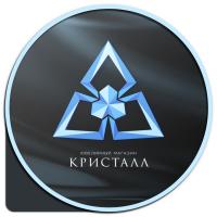 Логотип - ювелирный магазин Кристалл