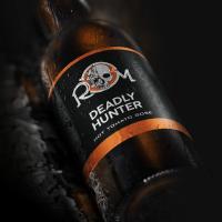 """Дизайн этикетки пива """"Deadly Hunter"""""""