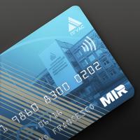 Дизайн банковской карты для ПГУАС