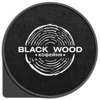Логотип - Black wood кофейня