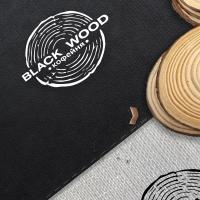 Black wood кофейня