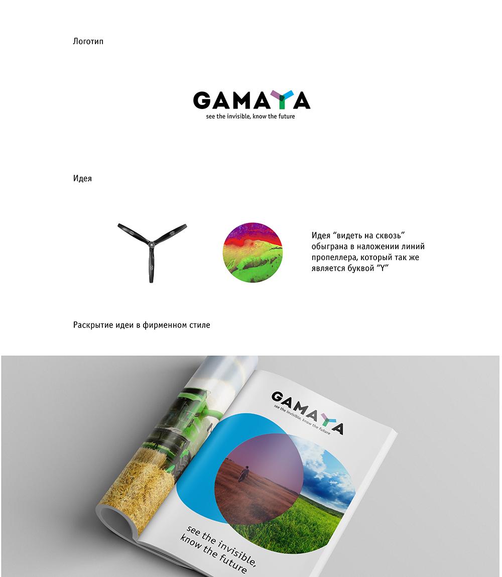Разработка логотипа для компании Gamaya фото f_78054848b9489063.jpg