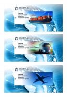 Баннеры для слайдера транспортной компании