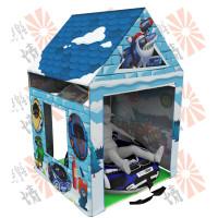 Моделирование и визуализация серии детских складных домиков