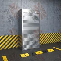 Металлический шкаф для паркинга
