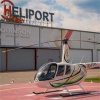 Крупнейший вертолетный центр Хелипорт Истра