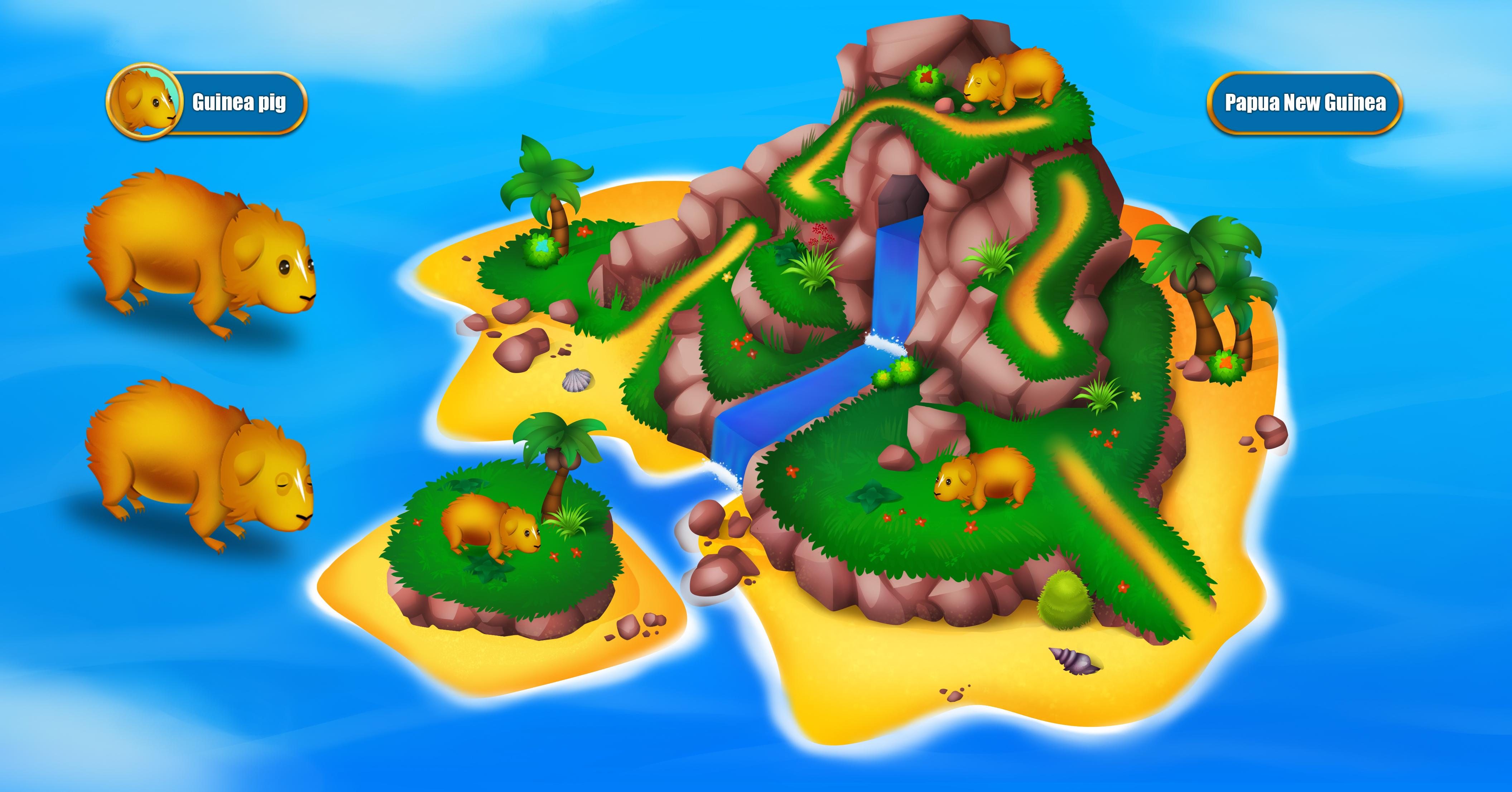 Игровая иллюстрация острова