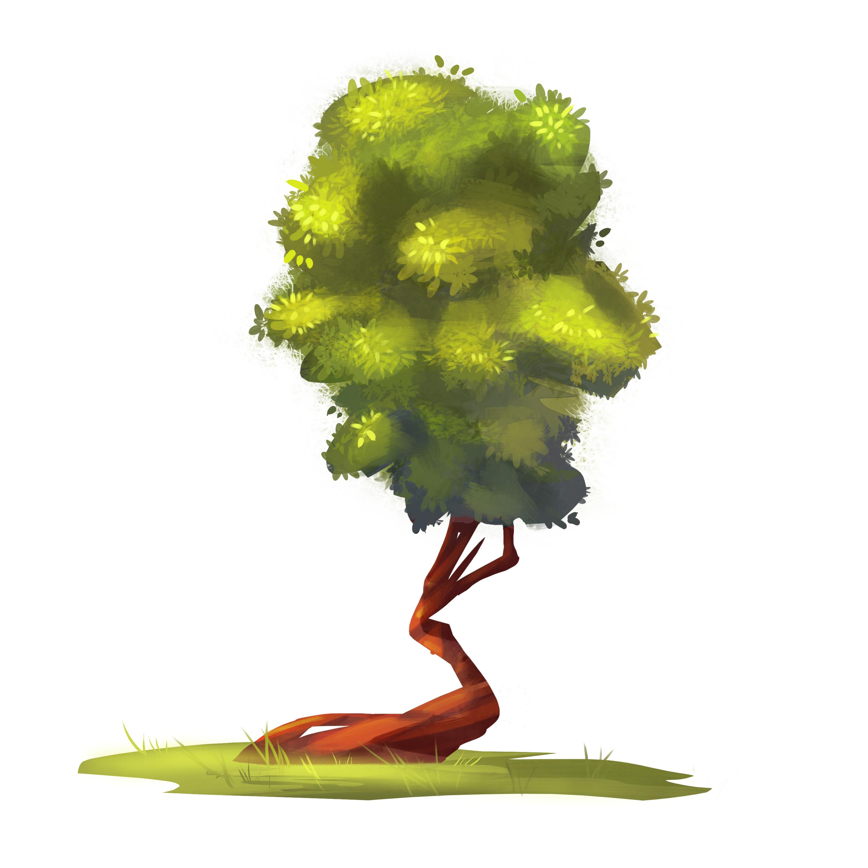 Концепт и последующая отрисовка дерева