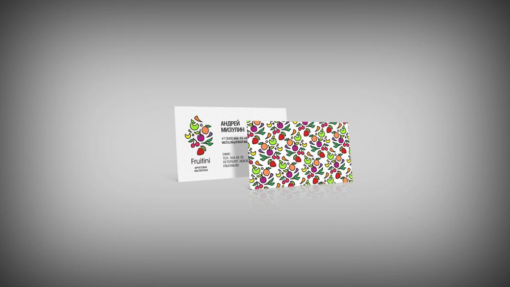"""ЛОГОТИП ФРУКТОВОЙ МАСТЕРСКОЙ """"FRUITINI"""" (продлен конкурс) фото f_555554f9817592eb.jpg"""