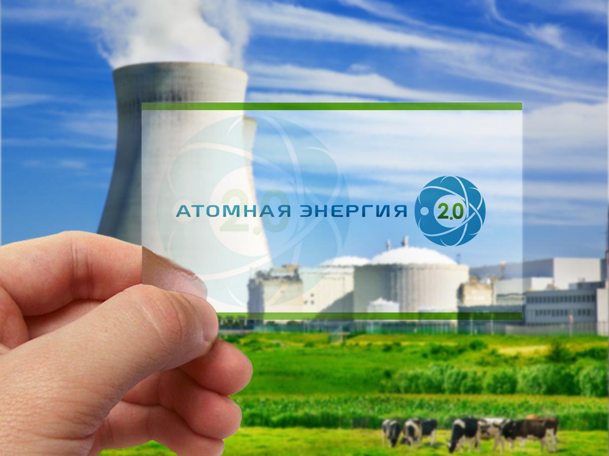 """Фирменный стиль для научного портала """"Атомная энергия 2.0"""" фото f_1495a02d8f75261f.jpg"""