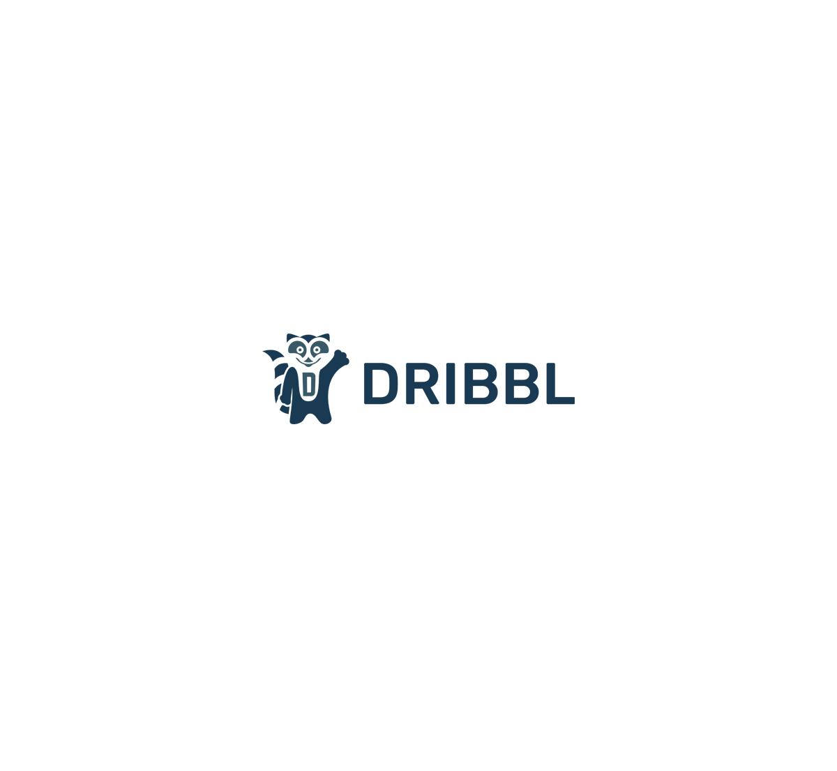 Разработка логотипа для сайта Dribbl.ru фото f_1545aa10e3a1b612.jpg